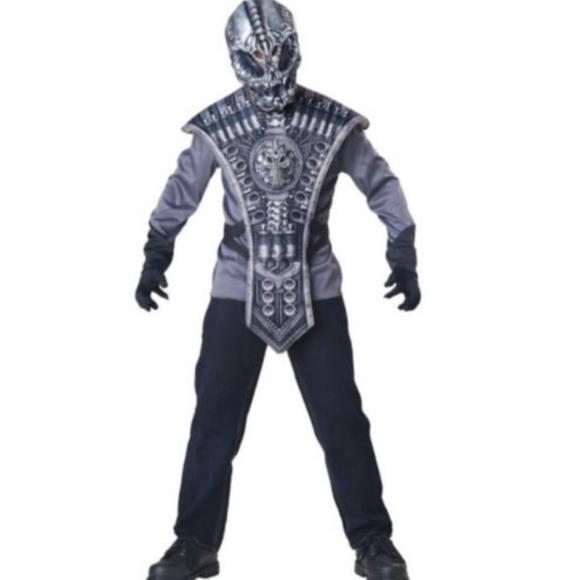 Halloween Costumes For Kids Scary.Alien Costume Kids Scary Halloween